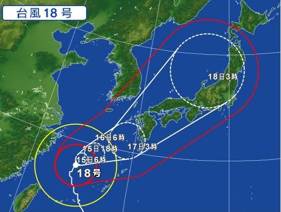 神戸のトランクルームYUTORIE(ゆとりえ)台風